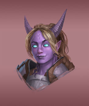 Commission - WoW Draenei