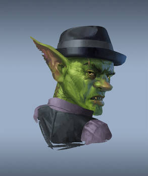 Commission - Goblin Gangster