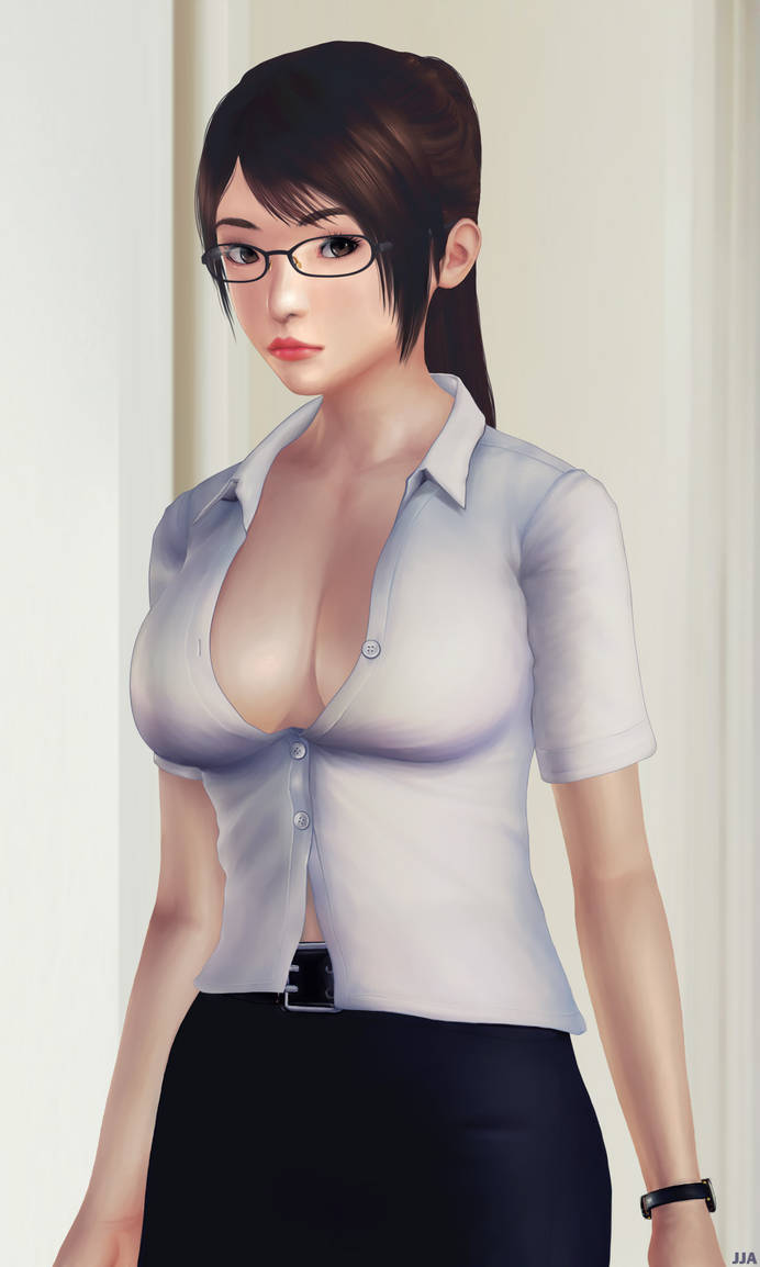 Glasses Girl by Khalitzburg