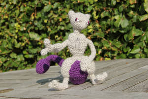 #150 Mewtwo by pokecrochetchallenge