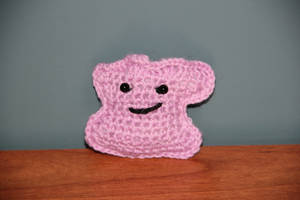#132 Ditto by pokecrochetchallenge