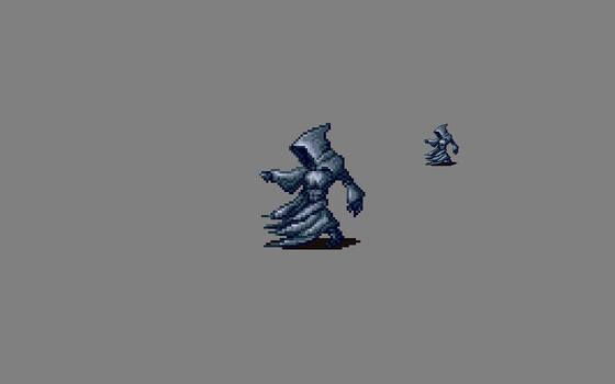 Pixel Art Monster: Phantom