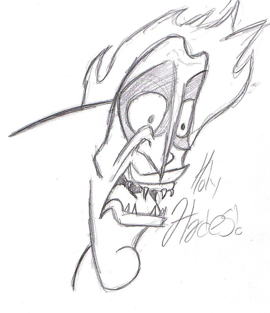 Hades sketch by witchiamwill on DeviantArt