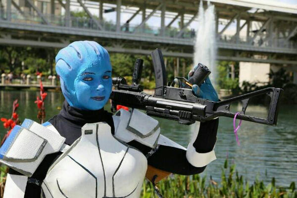 Liara at MegaCon by witchiamwill