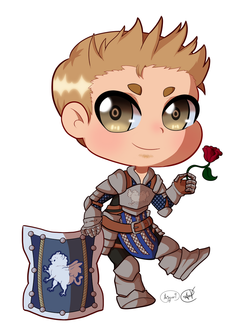 Alistair chibi by thejaguar9