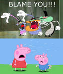 The Cockroaches Blames Peppa Pig