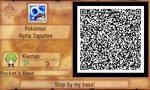 Secret Base QR code for Event Pokemon -Hoopa(READ)
