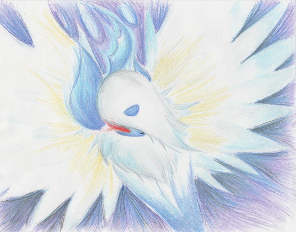 Mega Absol Draw me a pokemon contest by RainAtronach