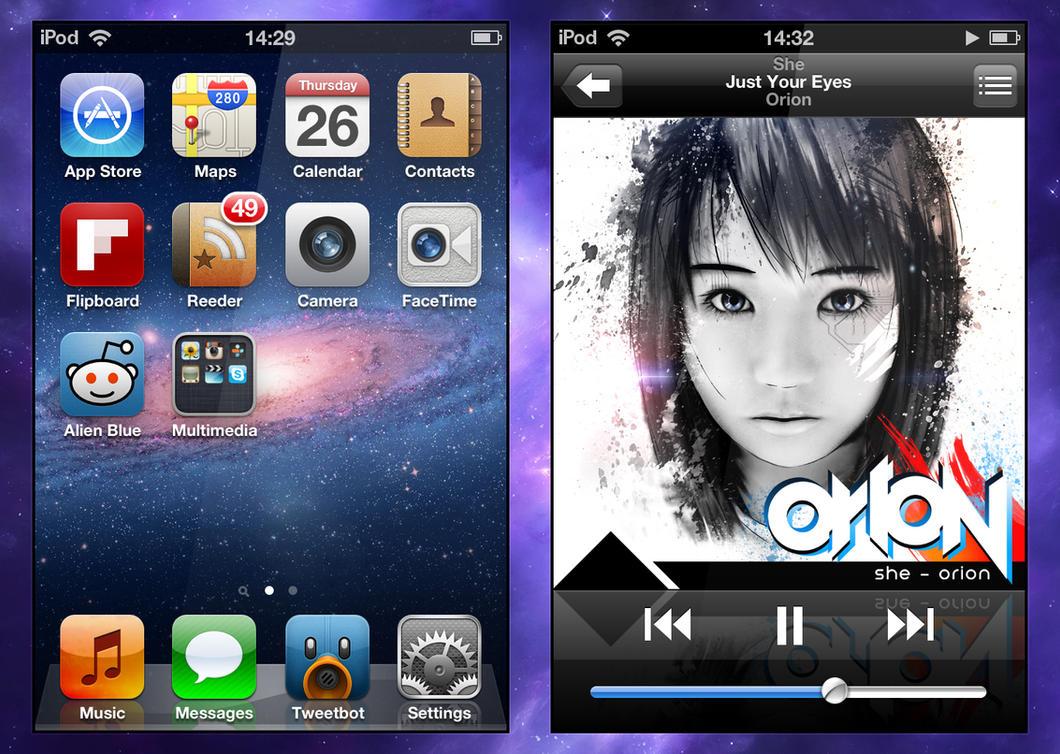 She - iPod by YaroManzarek