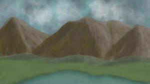 Mountain speed paint