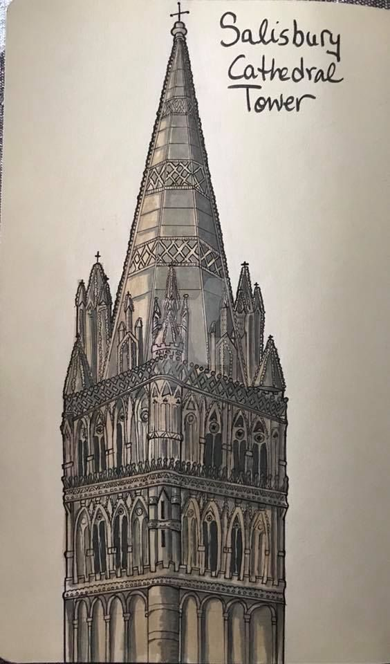 Gothic Tower by Quarantine1977