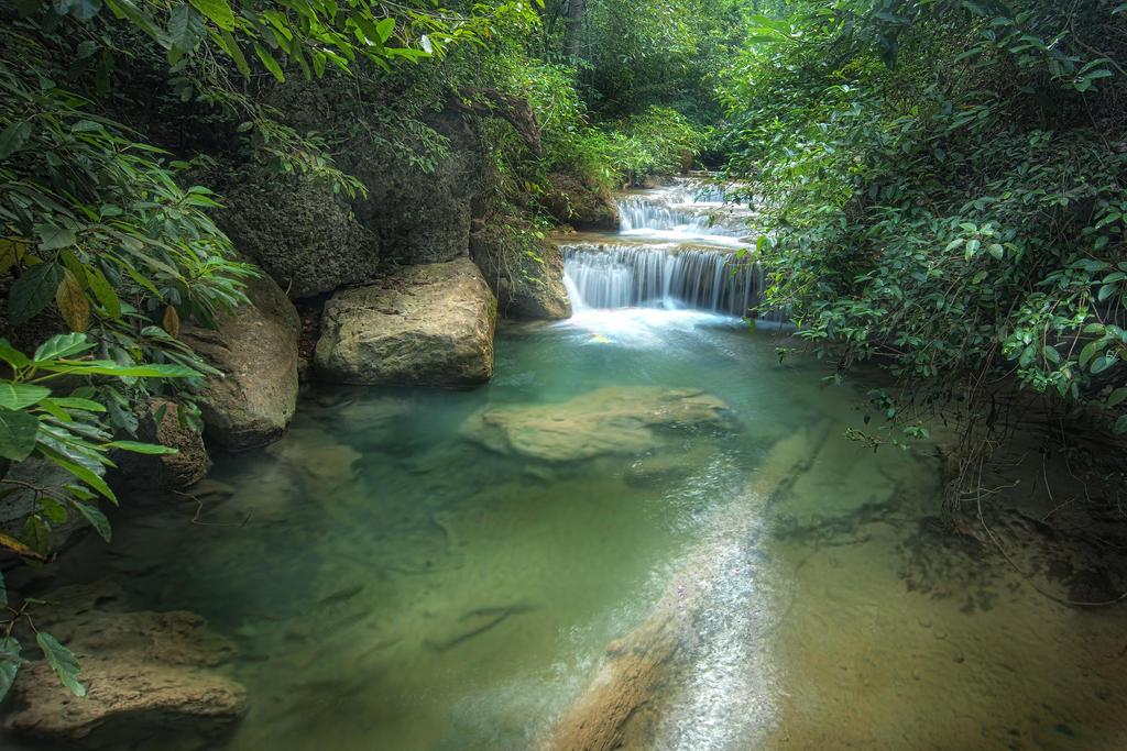 Erawan Falls 2 by pangwei on DeviantArt