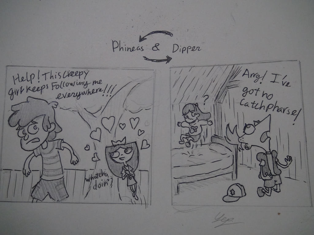 phineas and ferb visit gravity falls by dandyandy1989 on deviantart