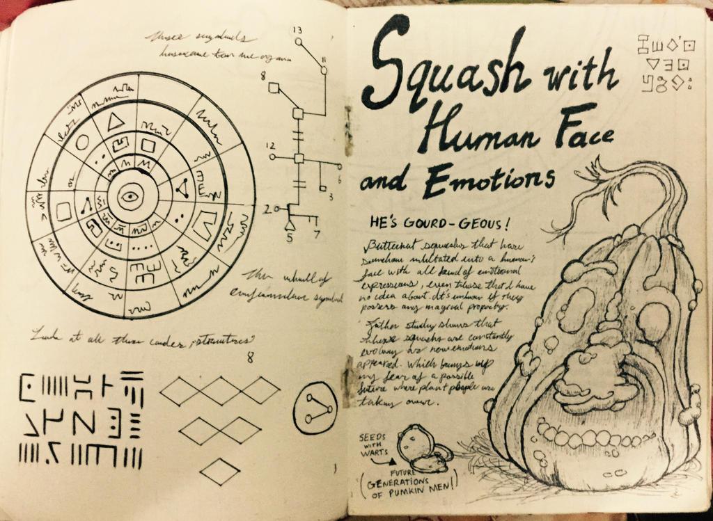 Gravity Falls Journal 3 Replica - Butternut Squash by leoflynn