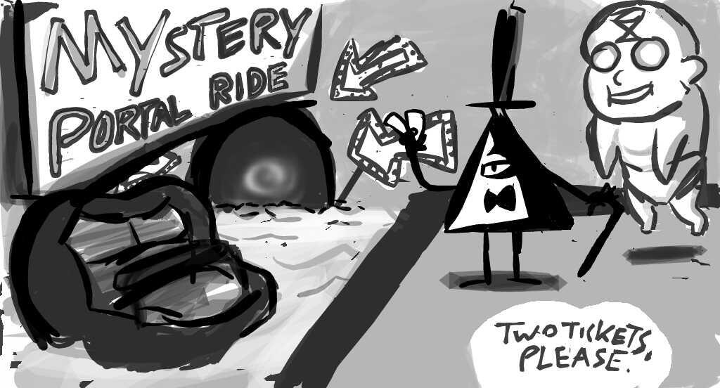 Gravity Falls What Is That Mysterious Portal By Leoflynn On Deviantart