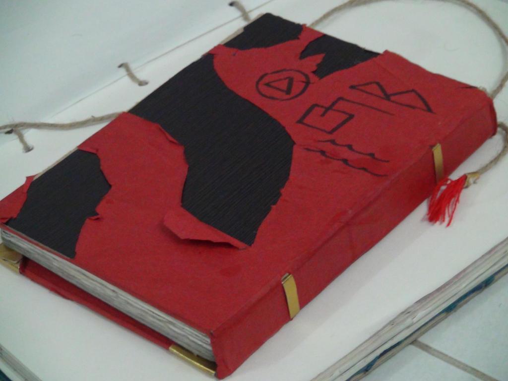 Gravity falls journal 3 replica back cover by leoflynn for Koch 6 backjournal
