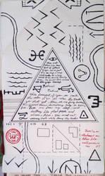 Gravity Falls Journal 3 Replica - Conspiracy Map by leoflynn