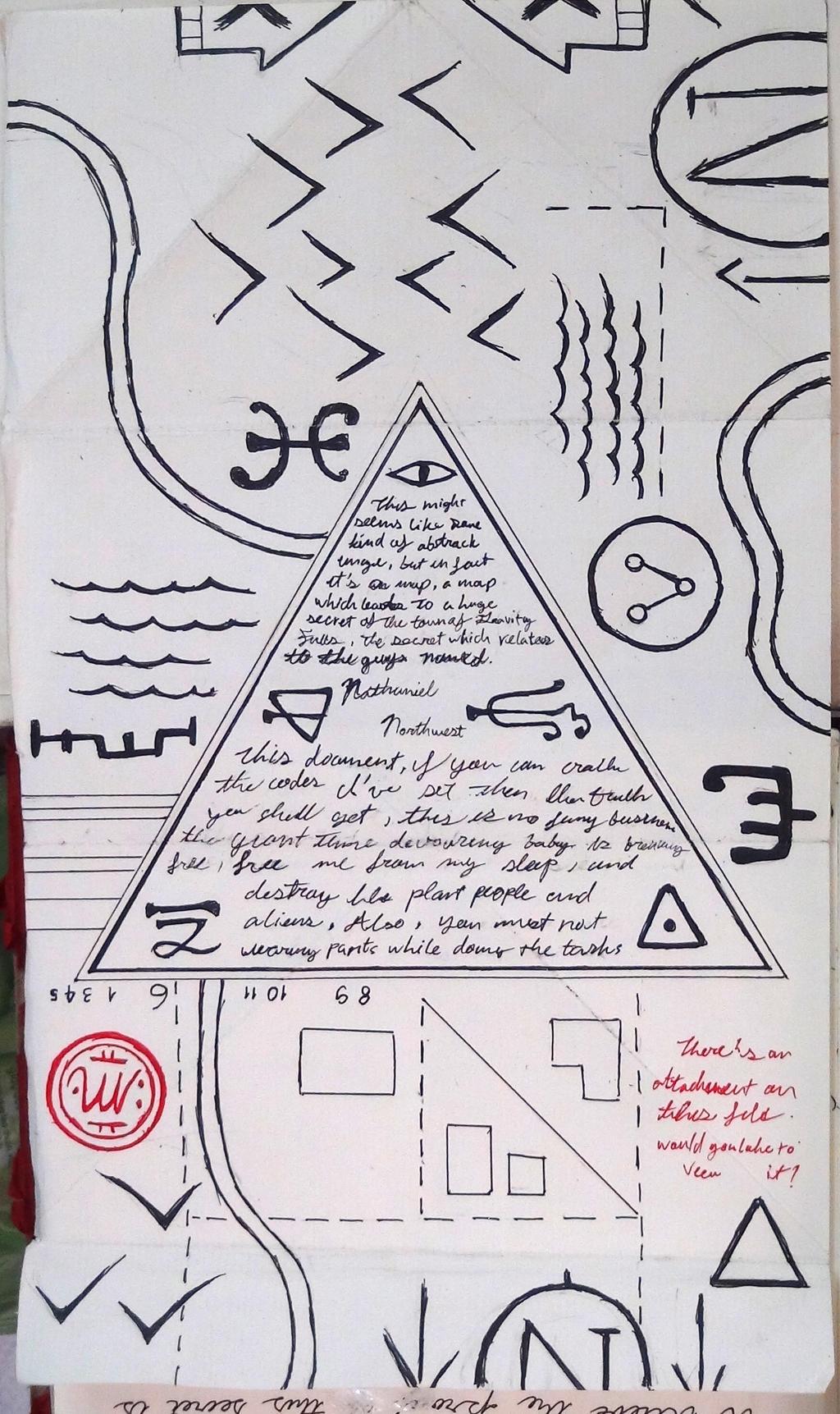 картинки из дневника диппера на русском