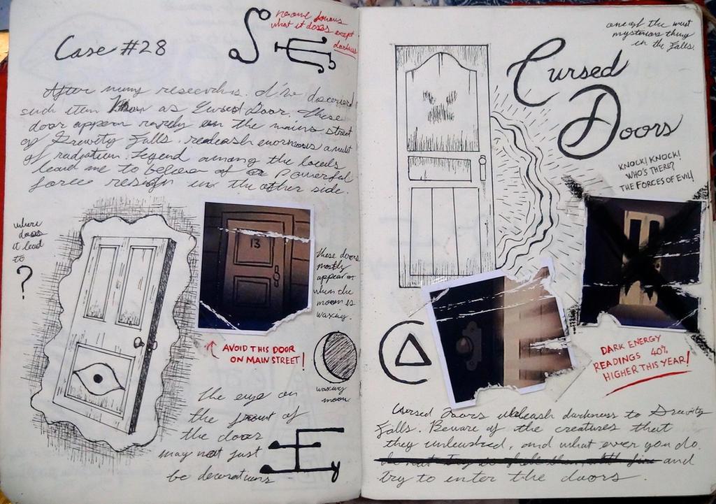 Гравити фолз как сделать дневник 2