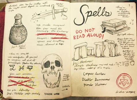 Gravity Falls Journal 3 Replica - Spells