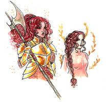 Character Design / Adara Lockhart