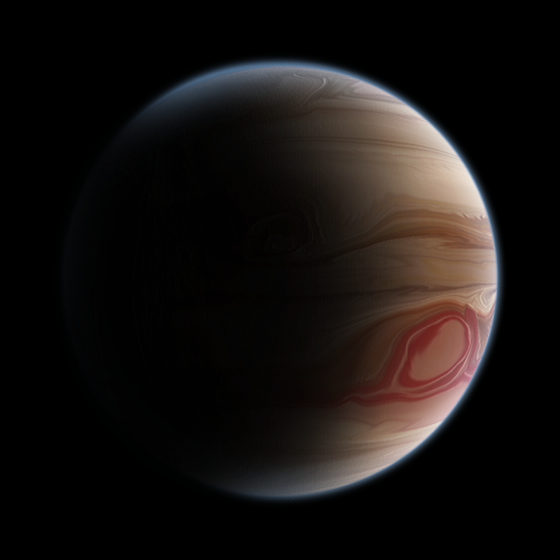 Euranius - A Gas Giant Planet by AlexTokmakchiev on DeviantArt