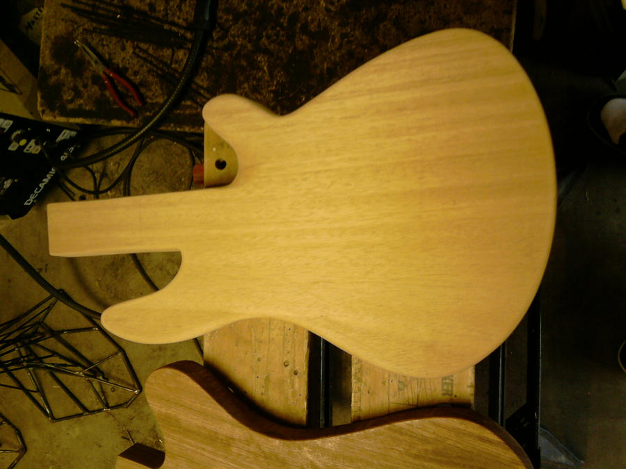 W.I.P.  Building my own Bass 2 by DraconicX