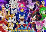 Sonic 27th Happy birthday!