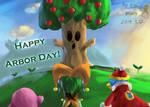 [Kirby]Happy Arbor Day! (2019) by Elinital