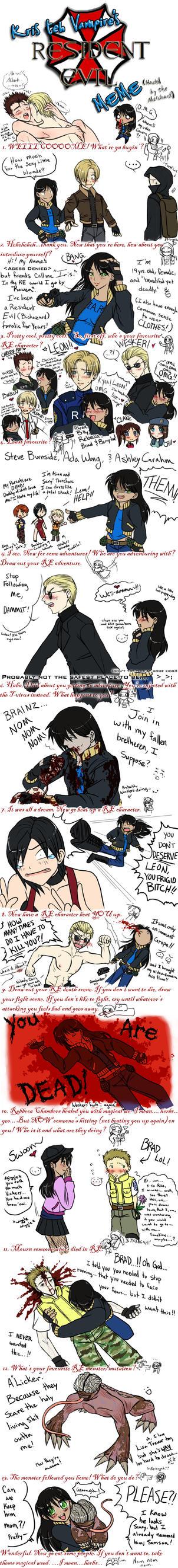 Resident Evil Meme by IrisHime