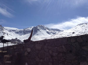 Tignes in early spring