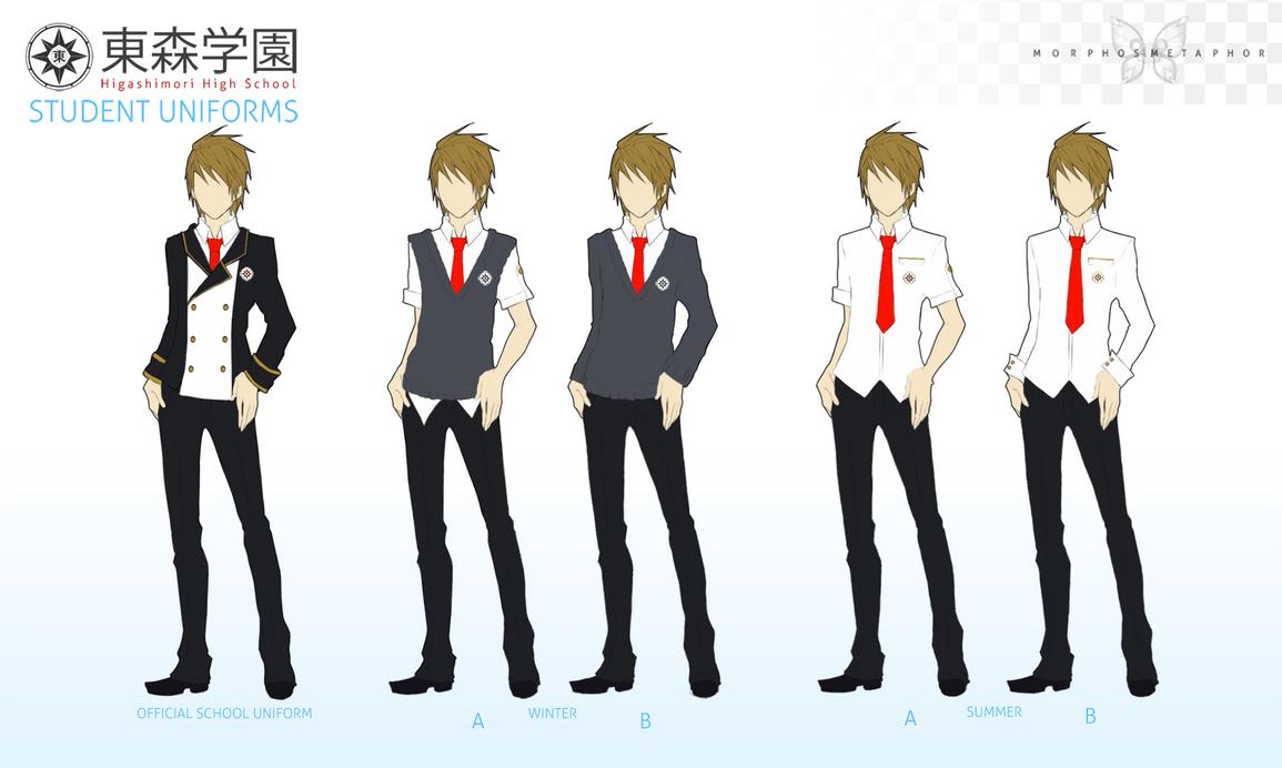 Higashimori Uniform Male By Dulcetto On Deviantart