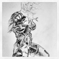 Metal Gear Solid Sketch