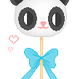 Panda lollipop by BunnyPix