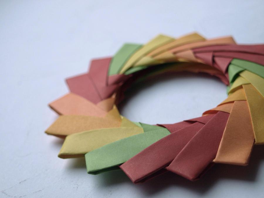 origami circle 1 by chaaarli on deviantart