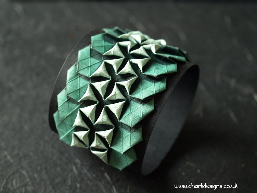 Origami Bracelets by Chaaarli on deviantART