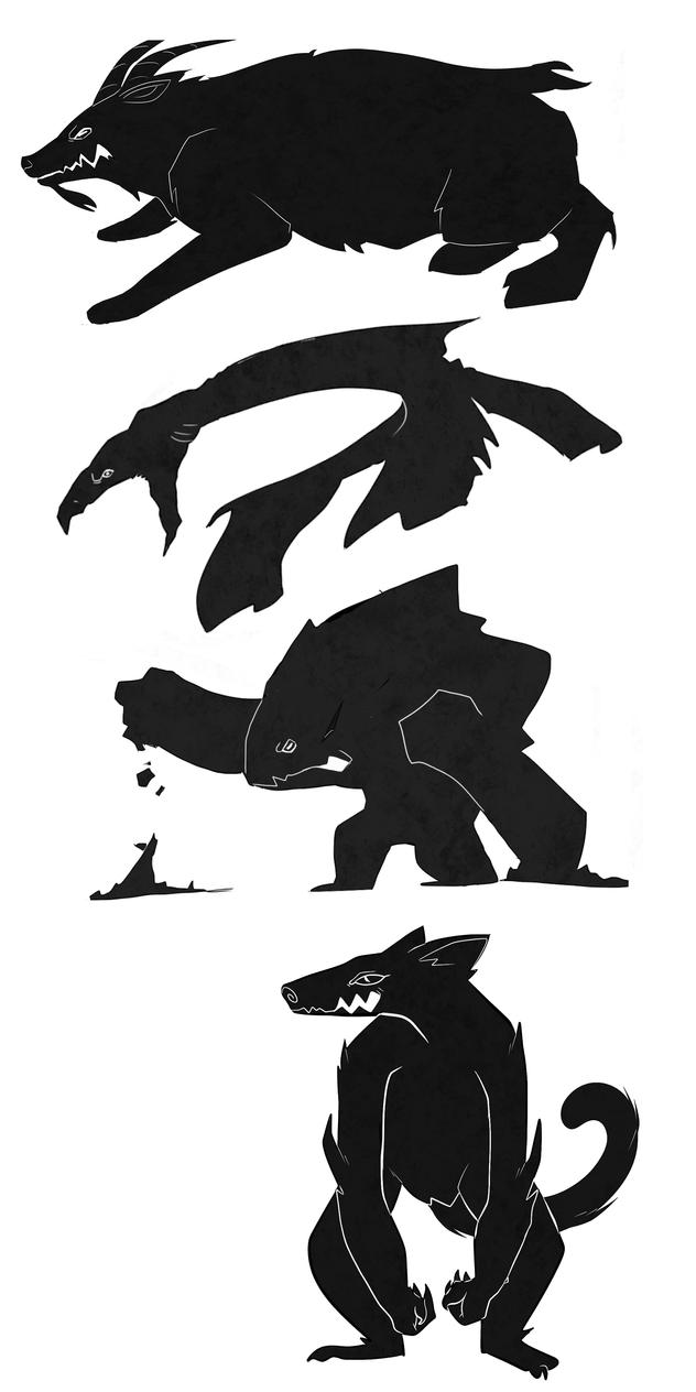 Banished! Creatures by DanchuPichu