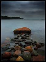 Stone Jetty III by Solkku