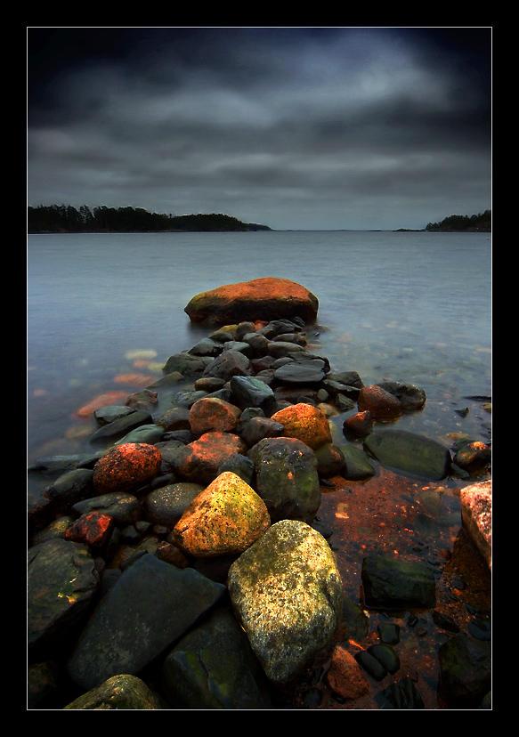 Stone Jetty V by Solkku