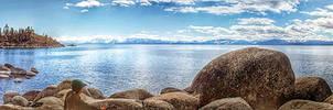 Lake Tahoe Rocky Shore