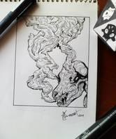 Wolf Skull by Rmozarts