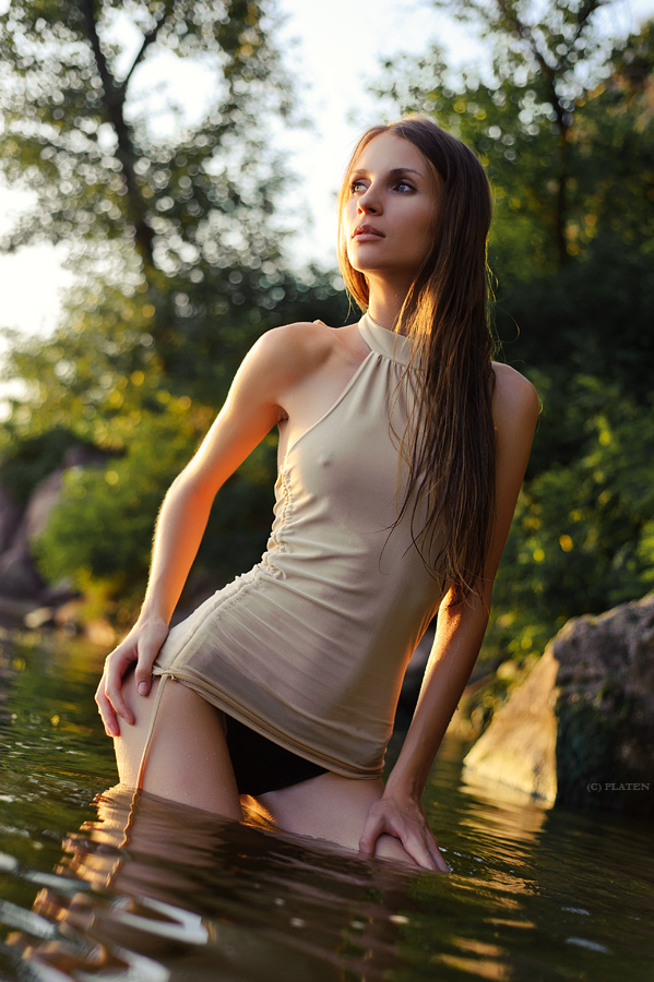 River Portrait of Yana by platen