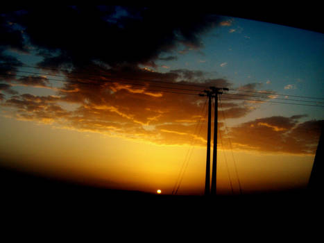 sky of home