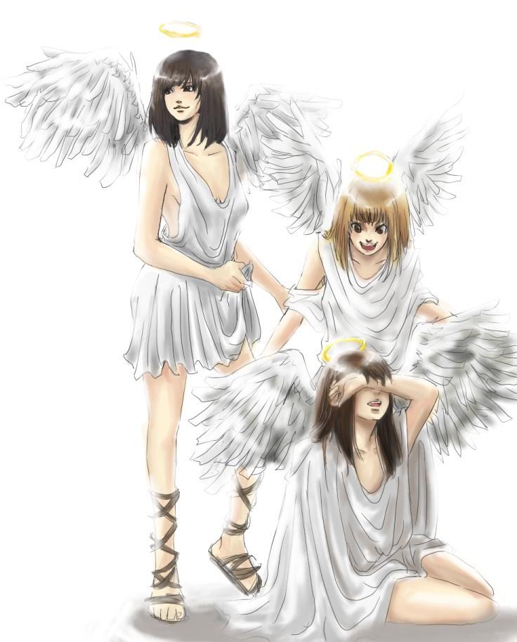 angels by possumomo