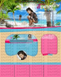 Evangeline Lilly Beach