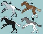 Fancy Horse Adopts 4/4 OPEN