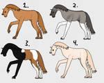 Spanish Horse Adopts 4/4 OPEN