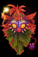 Skull Kid by birdzgoboom