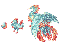 Magistream: Glass Phoenix by birdzgoboom