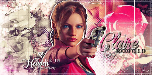 Claire Redfield Signature by MissAdaWong